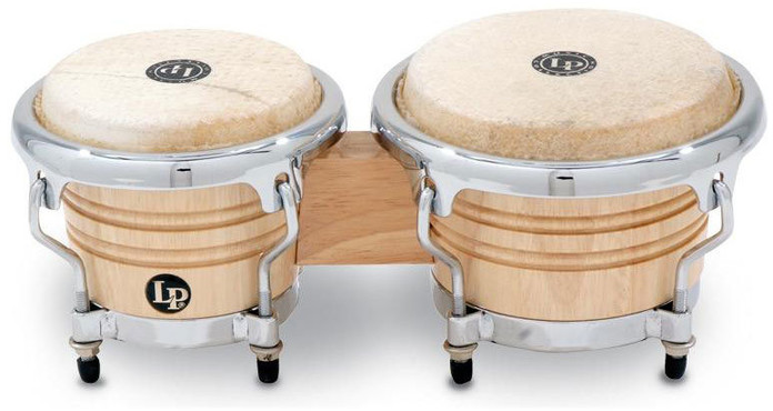 Latin Percussion LPM199-AW Natural Mini Tunable image