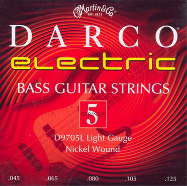 Martin Darco Electric Bass Light 5 String D9705L (45-125) image