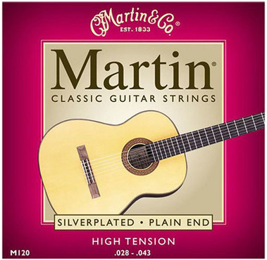 Martin Silverplated Plain End M120 (28-43) image