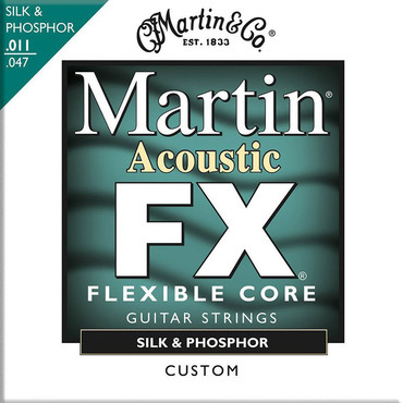 Martin FX 92/8 Phosphor Bronze Light MFX740 (12-54) image