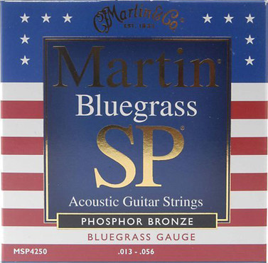Martin SP Phosphor Bronze Bluegrass MSP4250 (13-56) image