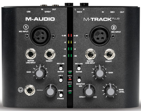 M-Audio M-Track Plus image