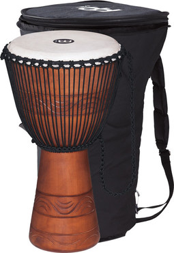 Meinl African Rope Tuned Wood Djembe Water Rhythm 12'' ADJ2-L+BAG image