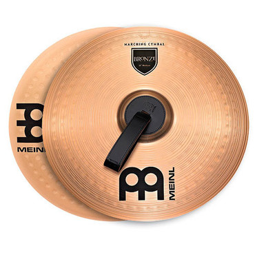Meinl Student Marching Cymbals Bronze 16'' MA-BO-16M image