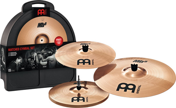 Meinl Matched Cymbal Set MB8-141620 image