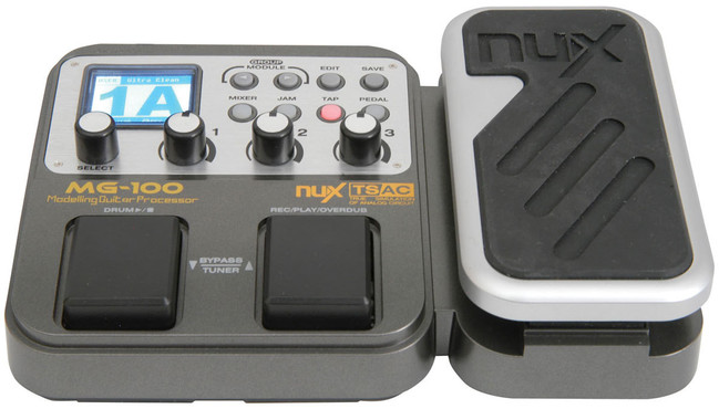 Nux MG-100 Multi-Effects Processor image