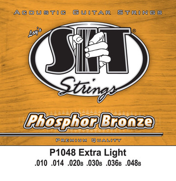 SIT Phosphor Bronze Extra Light P1048 (10-48) image
