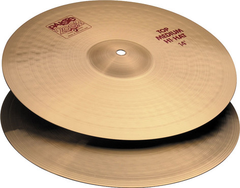 Paiste 2002 Medium Hi-Hat 14'' image