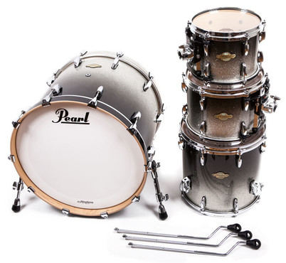Pearl Masters MCX-924XFP/C363 Black Sparkle Fade image