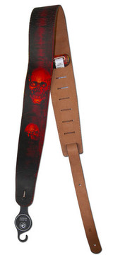 Planet Waves Stoned Leather Strap, Horror Show 25STL03 image
