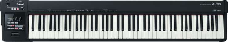 Roland A-88 MIDI Keyboard Controller image