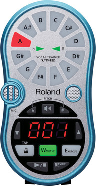 Roland VT-12 Vocal Trainer Blue image