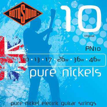 Rotosound Pure Nickels PN10 (10-46) image