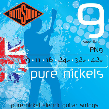 Rotosound Pure Nickels PN9 (9-42) image