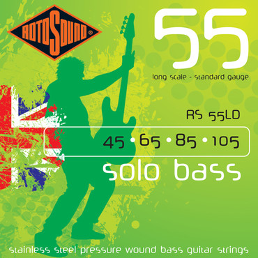 Rotosound Solo Bass 55 RS55LD (45-105) image