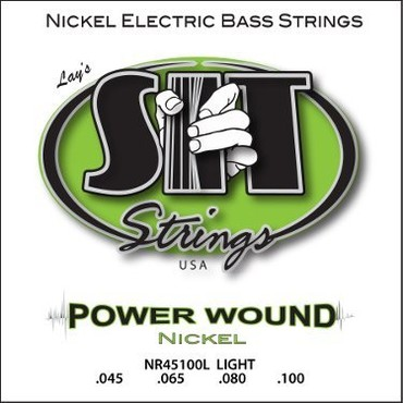 SIT Bass Power Wound Nickel Light NR45100L (45-100) image
