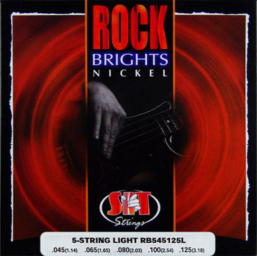 SIT Bass Rock Brights Nickel 5-String Light RB545125L (45-125) image