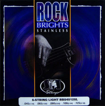 SIT Bass Rock Brights Stainless Light RBS545125L (45-125) image
