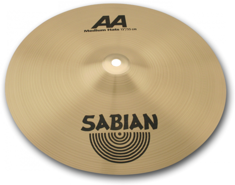 Sabian AA Medium Hats 14'' 21402 image