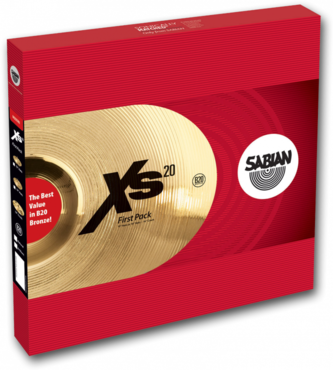 Sabian XS20 First Pack Set 13'' XS5001 image