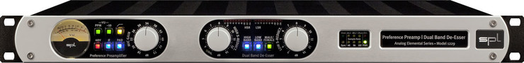 SPL 1229 Preference Preamp Dual Band De-Esser image