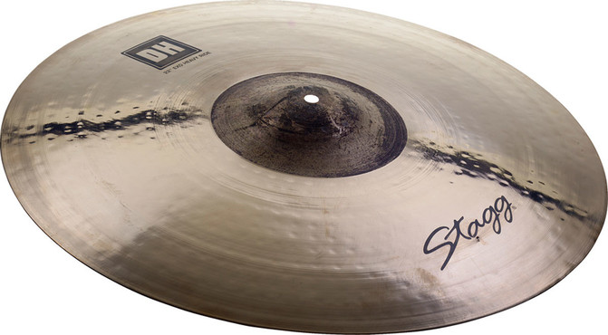 Stagg Double Hammered Exo Heavy Ride 22'' DH-RH22E image