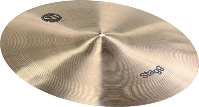 Stagg Single Hammered Thin Crash 14'' SH-CT14R image