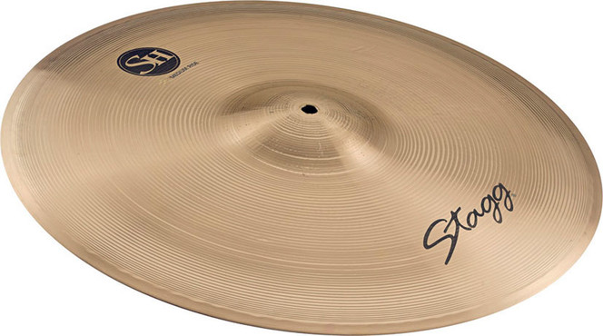 Stagg Single Hammered Medium Ride 22'' SH-RM22R image