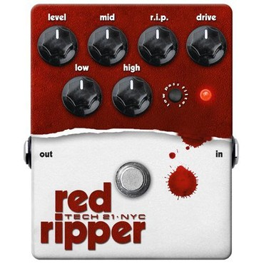 Tech 21 Red Ripper image