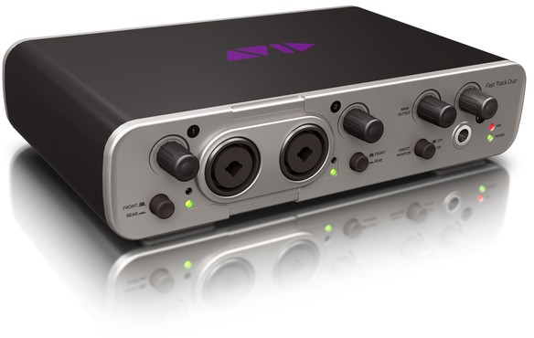 Avid Fast Track Duo with Pro Tools Express image