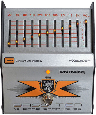 Whirlwind Bass Ten 10 Band Graphic EQ image