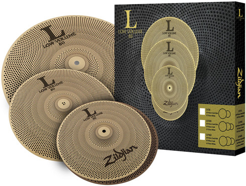 Zildjian L80 Low Volume Cymbal Set LV348 image