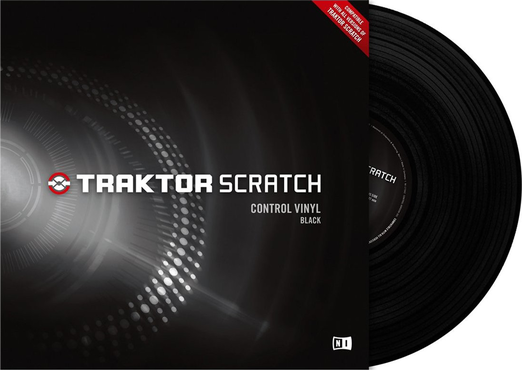 Native Instruments Traktor Scratch Pro Control Vinyl Black Mk2 image