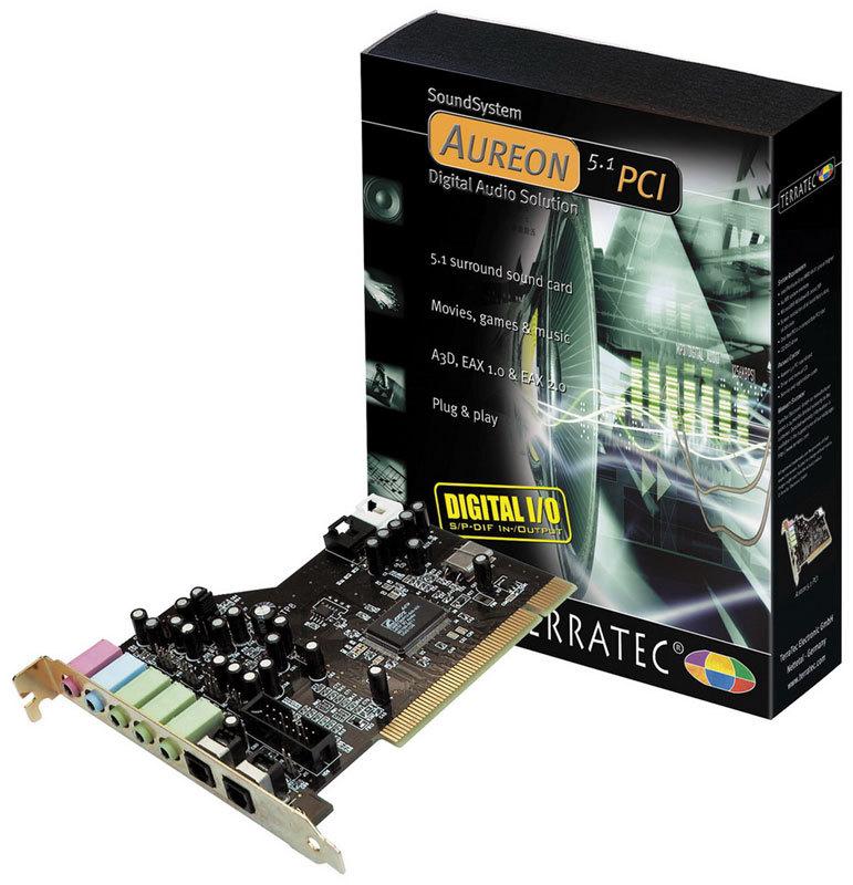 TERRATEC AUREON 5.1 PCI AUDIO TELECHARGER PILOTE