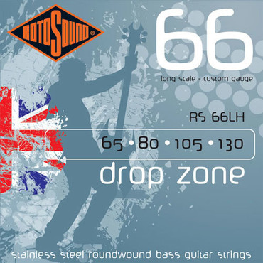 Rotosound Drop Zone RS66LH (65-130) image