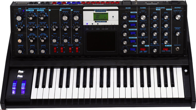 Moog Minimoog Voyager Electric Blue Edition image