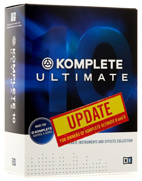 Native Instruments Komplete 10 Ultimate Upgrade for K2-9 image