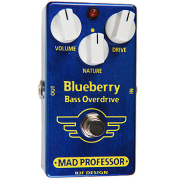 Mad Professor Blueberry Bass Overdrive PCB image