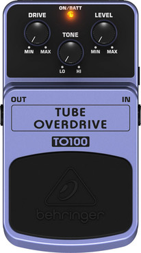 Behringer Tube Overdrive TO100 image