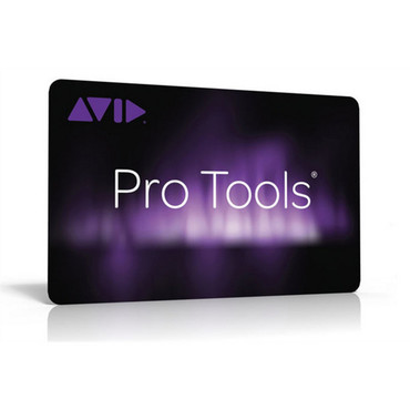 Avid Pro Tools Teacher Activation Card image