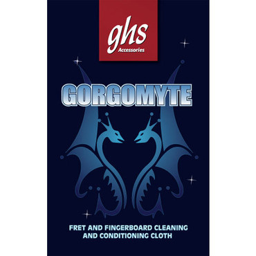 GHS Gorgomyte Fret and Fingerboard Treated Cleaning Cloth image