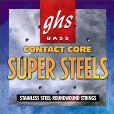 GHS Bass Contact Core Super Steels 5-String Medium 5M-CC (45-129) image