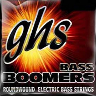 GHS Bass Boomers Medium Light Long Scale M3045X (45-105) image