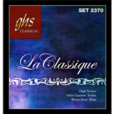 GHS La Classique Super High Tension Nylon Supreme Winter Silver 2380 (29-46) image