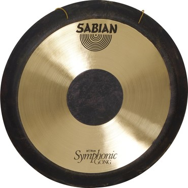 Sabian Symphonic Gong With Stand 28'' 52802+61005 image