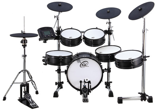 XM Drums Custom Plus-8SR (Wood Shiny Black) image
