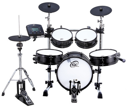 XM Drums Custom-8SR (Shiny Black) image