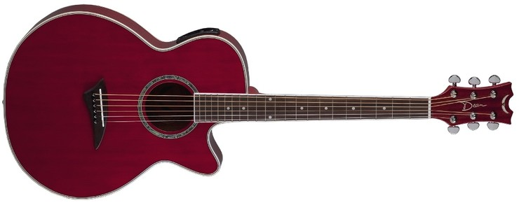 Dean Performer E TRD Trans Red image