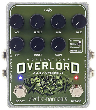 Electro-Harmonix Operation Overlord Allied Overdrive 0
