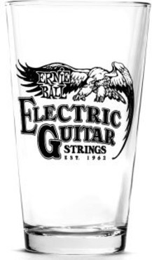 Ernie Ball 4001 Vintage Logo Pint Glasses 0